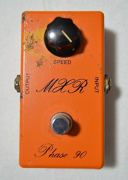 mxr phase 90 vintage 1974 phaser guitar effects pedal reverb. Black Bedroom Furniture Sets. Home Design Ideas