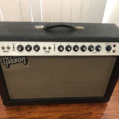 Gibson Gibson GA-45RVT SATURN 40 WATTS 2x10 Guitar Combo 1960's Black for sale