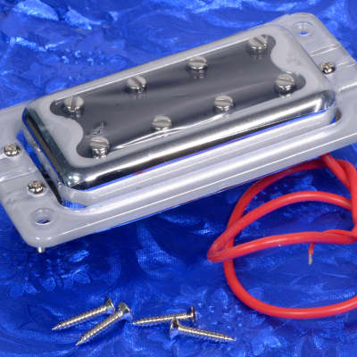 Gretsch Black Top Filter-Tron Bass Neck Pickup With Silver Ring, G5400, 0096639000
