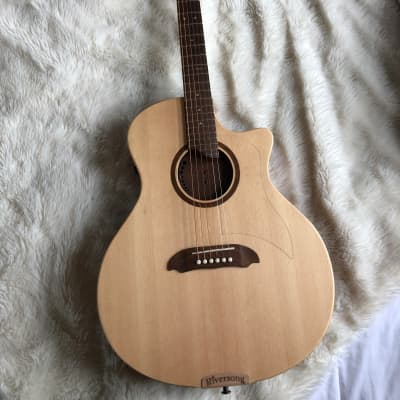 Riversong Guitars Tradition Canadian Series Special Edition Acoustic Electric Guitar Natur for sale