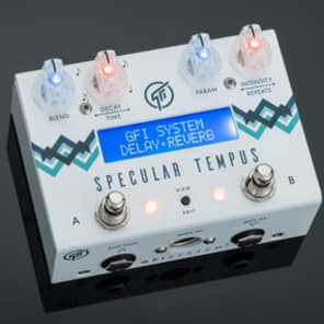 NEW! GFI System Specular Tempus - Reverb & Delay FREE SHIPPING!