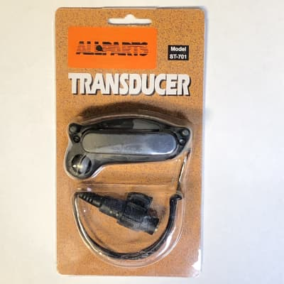 Allparts ST-701 Transducer Soundhole Acoustic Guitar Pickup for sale