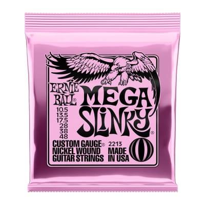 Ernie Ball Mega Slinky Nickel Wound Electric Guitar Strings - 10.5-48 Gauge