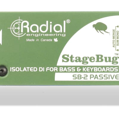 Radial Engineering StageBug SB-2 Passive Acoustic DI