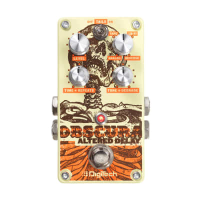 DigiTech Obscura Altered Delay Guitar Effects Pedal image