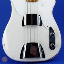 Fender Precision Bass 1957 White image