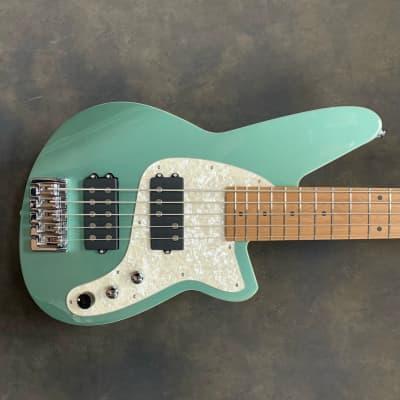 Reverend Mercalli 5 string bass 2020 Metallic Alpine for sale