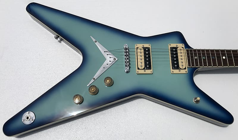 dean ml 79 blue burst electric guitar neal 39 s vintage reverb. Black Bedroom Furniture Sets. Home Design Ideas