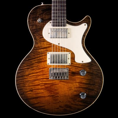 PJD Carey Custom 10th Anniversary Electric Guitar in Cocoa Burst for sale