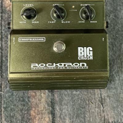 Used Rocktron Big Crush Compressor Pedal