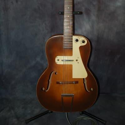 1951 Vintage Old Kraftsman by Kay Archtop Thin Twin Pickup Neck Reset Refin Pro Setup Original Case for sale