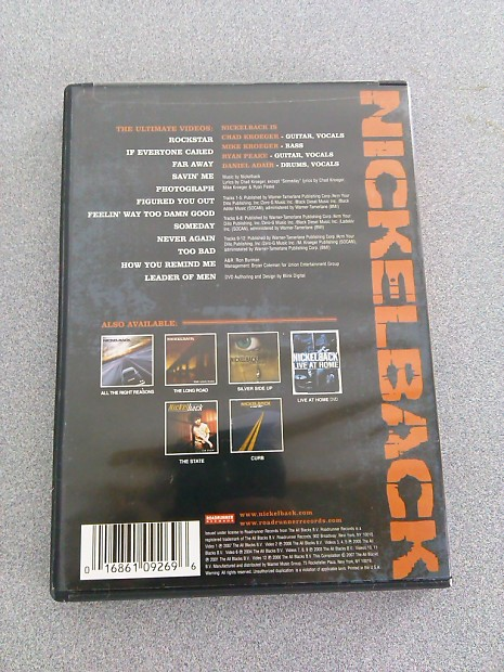 DVD Nickelback The Ultimate Video Collection   Reverb