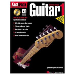 Hal Leonard FastTrack Guitar Method - Book 1