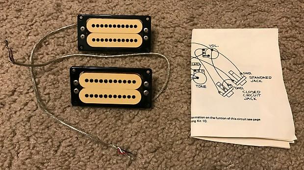 carvin humbucker guitar wiring diagram 1978 carvin m22 neck   bridge pickups usa made edward reverb  1978 carvin m22 neck   bridge pickups
