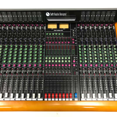 Toft Audio Designs Series ATB32 ATB 32 Channel Console w/ Meter Bridge