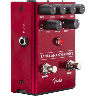 FENDER SANTA ANA OVERDRIVE PEDAL for sale