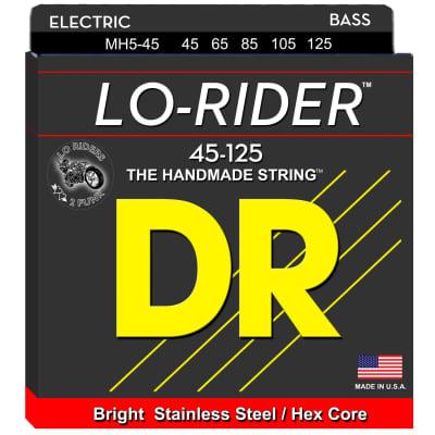 DR Strings MH5-45 45-125 5str Lo-Rider Bass Strings