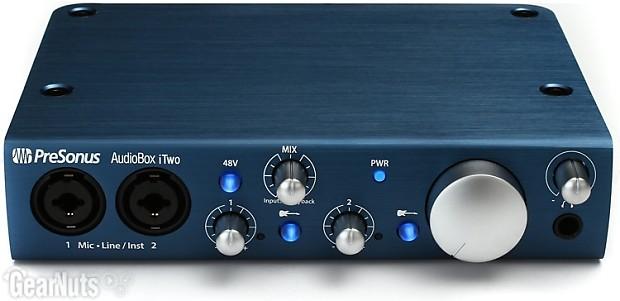 presonus audiobox itwo studio 2x2 usb ipad recording system reverb. Black Bedroom Furniture Sets. Home Design Ideas
