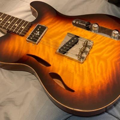 2006 Ruokangas Mojo Grande Vintage Burst. Incredible Telecaster Style Fender Killer! for sale