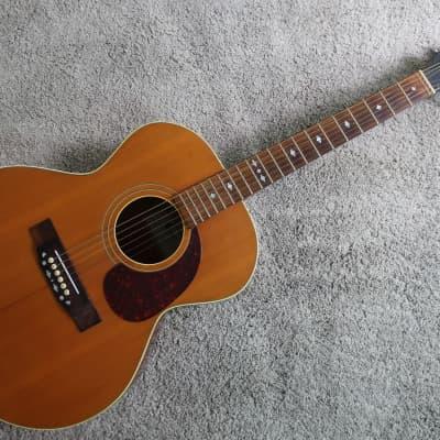 Vintage 1970s Standel Harptone Jumbo Acoustic Guitar Rare Holy Grail David Bowie Favorite for sale