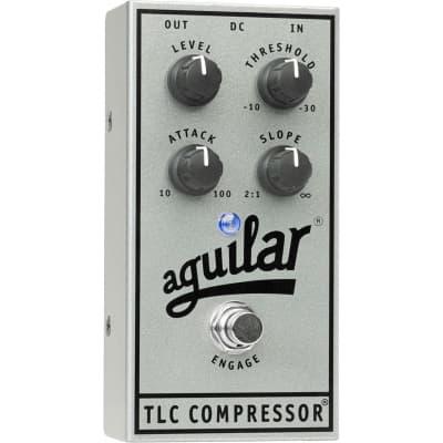 Aguilar APTL-AE TLC Compressor Silver Anniversary Edition Pedal for sale