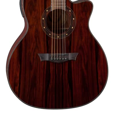 Dean Exotica Acoustic Electric Guitar Cocobolo Wood ECOCO for sale