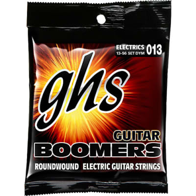 GHS Electric Boomers DYM Medium Guitar Strings (.013-.056)