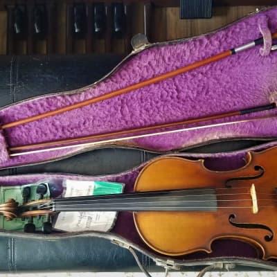 Osmanek 1910 A. Osmanek 4/4 violin 1910 amber