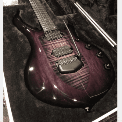 Ernie Ball Music Man John Petrucci Monarchy Majesty 6 Black Knight for sale