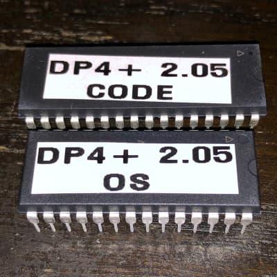 Ensoniq DP/4+ update 2.05 ROM OS upgrade dp4 plus, set of two roms EPROM kit dp4+