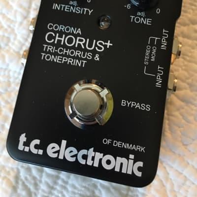 TC Electronic Limited Edition Corona Chorus+ SCF Tri-Chorus & TonePrint Pedal - MINT