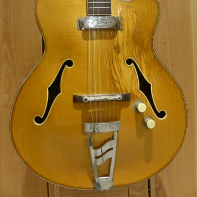 Jacobacci Royale '60s Natural Vintage French Archtop for sale