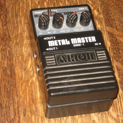 Arion SMM-1 Stereo Metal Master Distortion Guitar Effect Pedal, Pro Serviced for sale