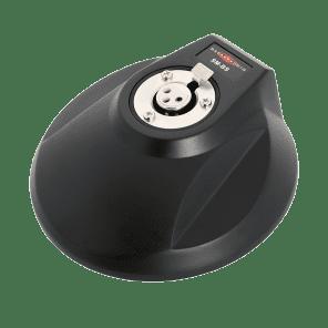 Galaxy Audio SM-BS Shockmount Desktop Mount Base for Gooseneck Microphones