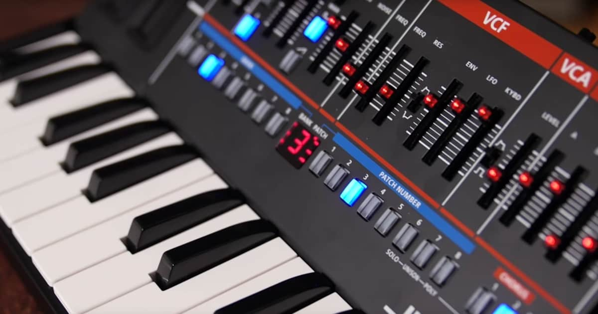 video roland boutique series synthesizers reverb news. Black Bedroom Furniture Sets. Home Design Ideas