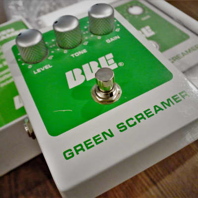 BBE Green Screamer Vintage Style Overdrive Pedal Original v1