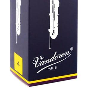 Vandoren CR154 Traditional Contra-Alto/Contrabass Clarinet Reeds - Strength 4 (Box of 5)