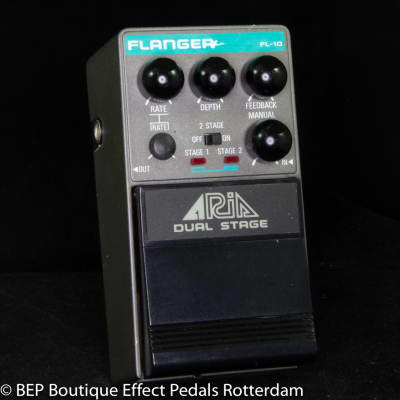 Aria FL-10 Dual Stage Flanger s/n 50105517 mid 80's Japan