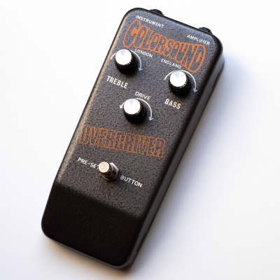 Vintage Colorsound Overdriver 1973 - all original, nearly mint (similar to power boost, sola sound) for sale