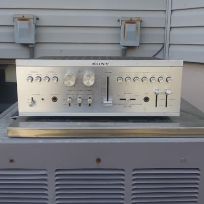 Sony Amplifier TA-1150  Silver