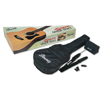 Ibanez IJV50 Jampack Acoustic Guitar Pack for sale