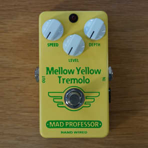Mad Professor Mellow Yellow Tremolo Hand Wired for sale