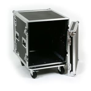 "OSP SC12U-20 12-Space 20"" ATA Shock Mount Amp/Effects Rack Case w/ Casters"