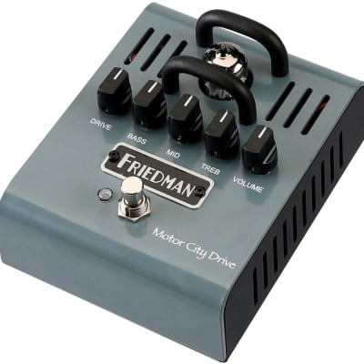 Friedman Motor City Drive Tube Overdrive Effects Pedal for sale