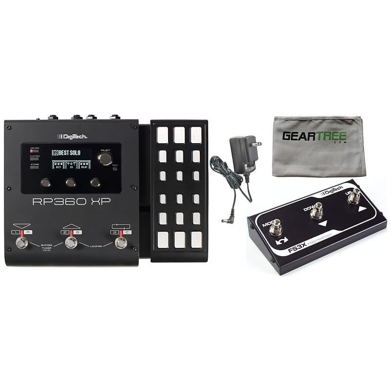 digitech rp360xp guitar multi effects usb pedal with reverb. Black Bedroom Furniture Sets. Home Design Ideas