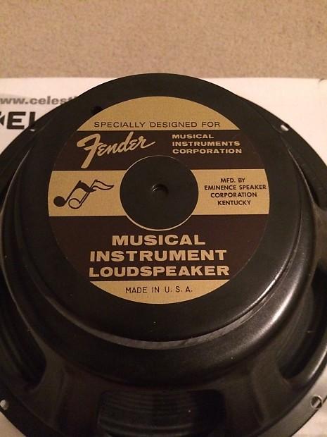 Fender Blues Jr Stock Speaker | Tone Supply