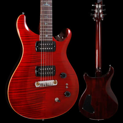 PRS Paul Reed Smith SE Paul's Guitar w/ Bag, Fire Red 758 6lbs 5.5oz for sale