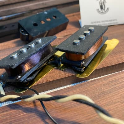 General Vintage Tone  Precision Bass Pickups  1960 Hand wound real scatter wound true vintage