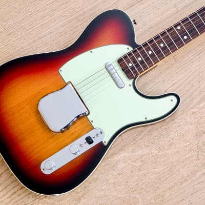 2007 Fender American Vintage '62 Telecaster Custom Electric Guitar Sunburst w/ Case & Hangtags for sale