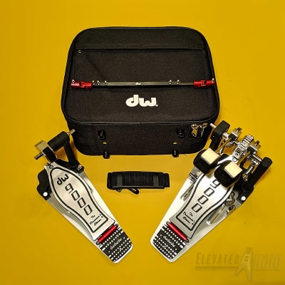 DW 9002  Double Bass Drum Pedal, Used MINT Condition, Buy from CA's #1 DW Hardware Dealer NOW !